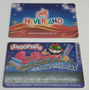 Lote De 2 Tarjetas De Neverland - Muy Coleccionables