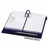 Refil P/ Agenda Financeira 130311 97x160mm 320 Fls Ano 2014.