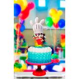 Topper Para Torta Y Cupcake Kit Cumpleanos Mickey Mouse Club