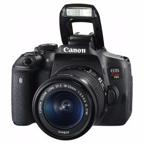 Câmera Canon Eos Rebel T6i Kit Ef-s 18-55mm Is Stm