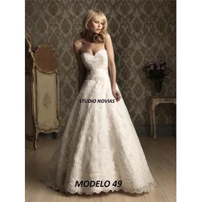 Vestido Novia Nuevo Barato Bonito Elegante Princesa Sirena49