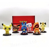 Pokemon Miniatura Pikachu Charizard Mew Lucario Boneco