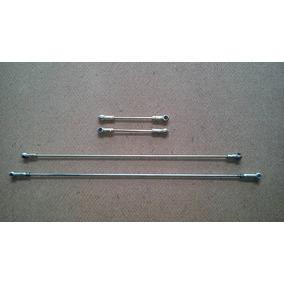 Kit Varetas Carburador Variant/tl (3 Fixas 1 Com Regulagem)