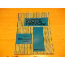 Serie Schaum, Geometria Plana Con Coordenadas, Barnett-rich