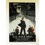 Los Intocables (1987) Fabuloso Poster Clásicos Del Cine
