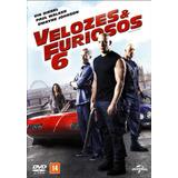 Dvd Velozes E Furiosos 6 Novo Lacrado Original