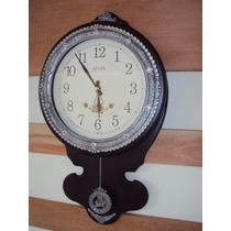 Relógio Parede Pendulo Sx Westminster Pendulo Novo