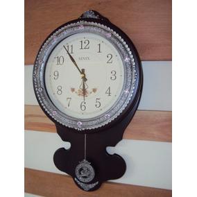 Relógio Parede Pendulo Sx Westminster Pendulo Novo 2153m