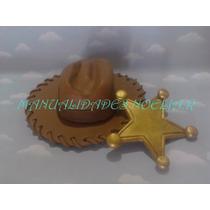 Adorno Sombrero De Woody Estrella De Sheriff Toy Story