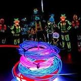 Fio De Neon Original Kit 3 M Com Efeito De Luz