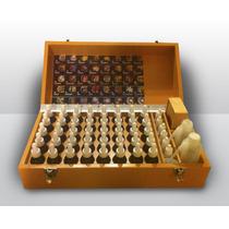 Caja De Madera Para Kit De Flores De Bach