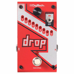 Pedal Digitech The Drop Polifônico Guitarra Baixo C/ Fonte