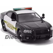 Motor Max 1:24 Dodge 2014 Charger - Socorro County Sheriff