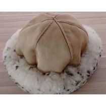 Gorros De Lã De Carneiro 100% Natural