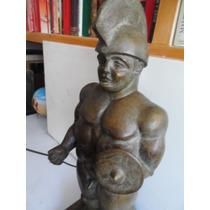 Escultura De Bronce Tipo Escultor Botero Troyano