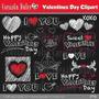 Kit Imprimible San Valentin Corazones 31 Imagenes Clipart