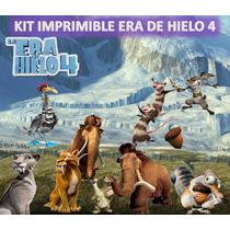Kit Imprimible Era De Hielo 4