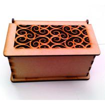 Caja De Te , Sorpresero , Calada.16x8x8 Cm.pack Fibrofacil
