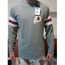 Camiseta Camisa Blusa Redskins New Era Washington Nfl M/l