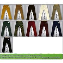 Kit 10 Calças Semi Skinny Jeans Sarja Masc Revenda Atacado