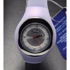 Reloj Para Dama Steelco Resistente Al Agua