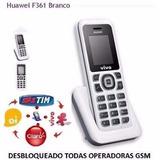 Telefone Fixo Gsm Huawei F361 Desbloqueado Novo