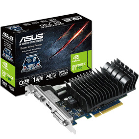 Placa Video Geforce Asus Gt 730 1gb Ddr3 Hdmi Vga Dvi Mexx