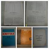 Lote De Manuales Y Revistas De Tejido Knittak.