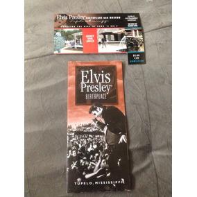 Folheto Oficial Da Casa Onde Nasceu Elvis Presley, Em Tupelo