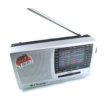 Radio Fm/tv/mw/sw1-9 Livstar Portatil 12 Bandas Receptor