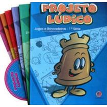 Coleção Pedagógica Projeto Lúdico 1ª Série + Brinde