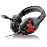 Fone De Ouvido Warrior Headset Gamer Ph101 Multilaser Preto