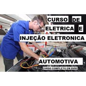 Curso Elétrica Injeção Automotiva (8 Dvds)