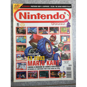 Revista Nintendo E3 2003 Mario Kart Mario Party N°58
