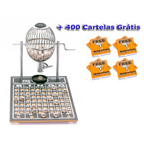 Bingo Completo Globo Nº1 + 400 Cartelas Grátis