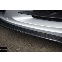 Lip Spoiler Frontal Universal Flexible Tipo Fibra De Carbon