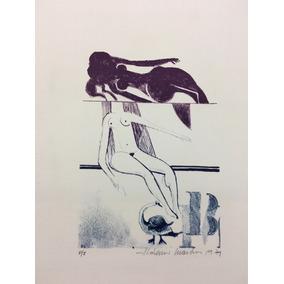 Serigrafia Aldemir Martins - 1979