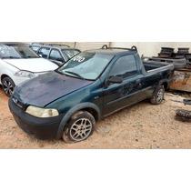Fiat Strada 2003 Mpi 1.5/ Sucata Para Retirada De Peças