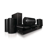 Home Theater Philips Hts3551/78 Blu Ray Hdmi 240 W Rms