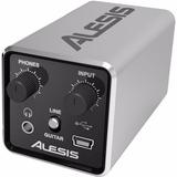 Interfaz Grabación Alesis Core 1 Placa De Audio 1 Canal