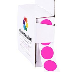 3/4 \extraíble Fluorescente De Color Rosa, Etiquetas De Col