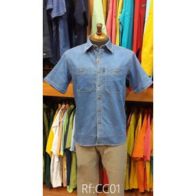 Camisas Ke Jeans Hombre Manga Corta