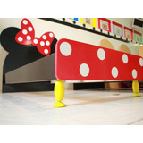 Cama Infantil Minnie Y Mickey Mouse