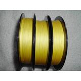 Linha Multifilamento Power Pró Amarela 15 Libras 100m (rolo)