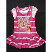Disney Vestido Importado Nickelodeon Dora (talle 5)