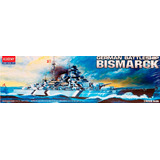 Buque Academy Bismarck German Battleship 1/800