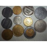 Lote De Once Monedas Antiguas !!! 123ventas.com.uy