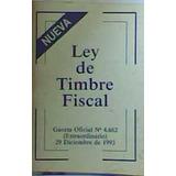Ley De Timbre Fiscal 1993