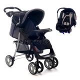Cochecito Bebe Travelsystem Pompeya E30 Infanti Nuevo
