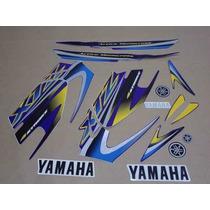 Kit Adesivos Yamaha Xtz 125 2005 Azul